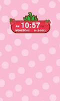 Screenshot of Strawberry Clock Widget