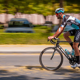 need for speed... by Sanjoy Sengupta - Sports & Fitness Cycling ( #cycle, #muscat, #slowshutter, #nikon, #sports, #nikonmea, #tour_of_oman, #oman, #panning )