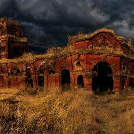 Ruin by Eddie Leach - Digital Art Places (  )