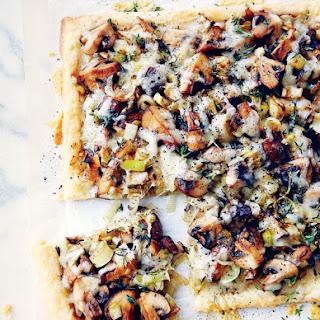 Cheese And Mushroom Pasties Recipes