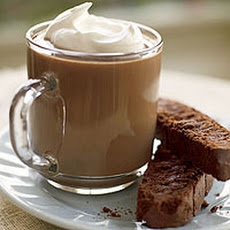Hot Maine Mudslides with Chocolate Biscotti