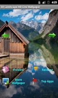 Screenshot of 3D Landscape HD LiveWallpaper2
