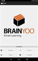 Screenshot of BRAINYOO flashcard App