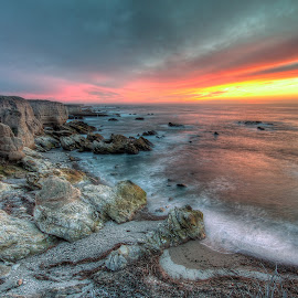 Sunset Cliff by Eric Terhorst - Landscapes Beaches