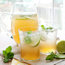 Mint Lime Tea Cooler