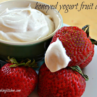 Honeyed Yogurt Fruit Dip