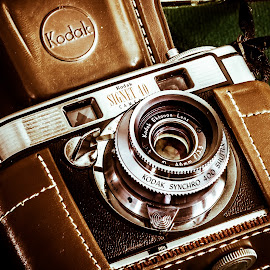 Camera by William Boyea - Artistic Objects Technology Objects ( old camera, camera, kodak, antique, photography,  )