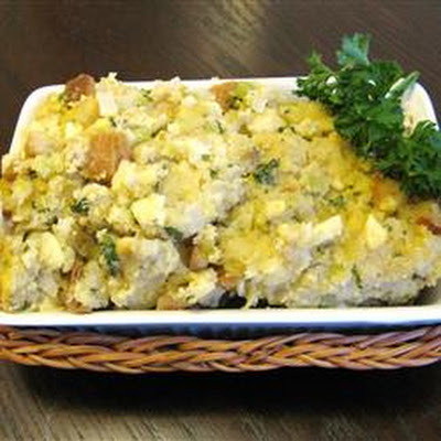 Apple Pecan Corn Bread Dressing
