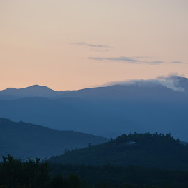 Sunset White mountains by Michael  Jones - Landscapes Mountains & Hills