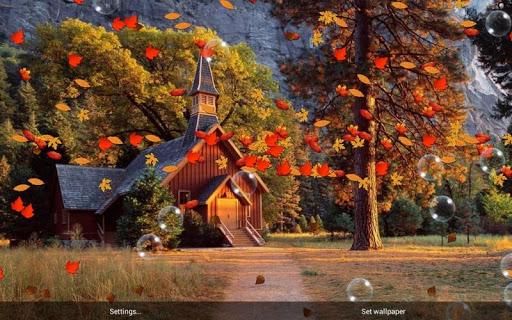 Autumn Pro Live Wallpaper - screenshot