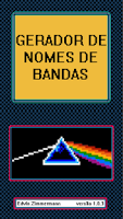 Screenshot of Gerador de Nomes de Banda