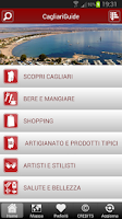 Screenshot of Cagliari Guide