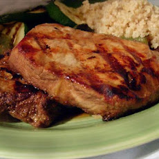 Teriyaki Grilled Pork Steaks