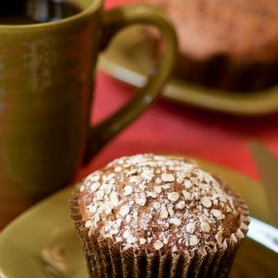 Flaxseed, Wheat, and Bran Muffins