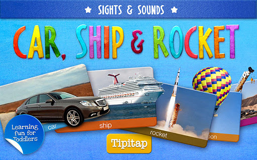 Toddler Car Ship Rocket HD