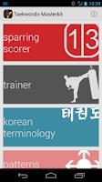 Screenshot of Taekwondo Masterkit Free