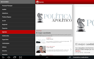 Screenshot of Zócalo