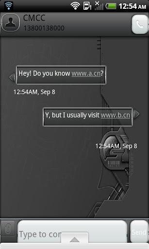 GO SMS - Hi Tech