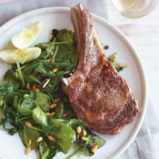 Veal Chops Stuffed with Herbs and Lemon