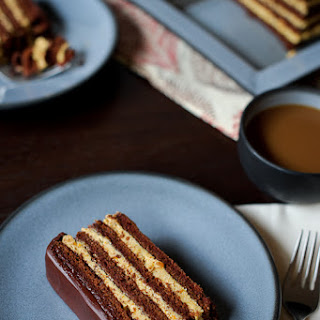 Chocolate Pumpkin Torte