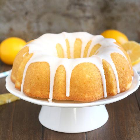 Meyer Lemon-Cranberry Bundt Cake Recipe | Yummly
