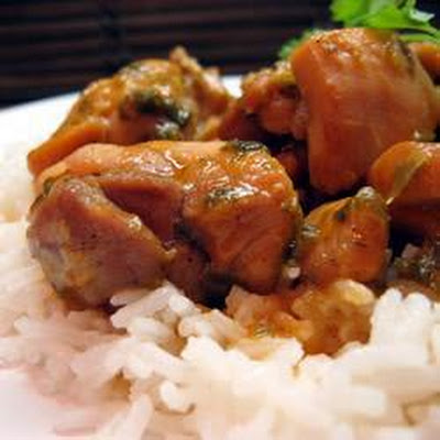 Trinidad Chicken Stew
