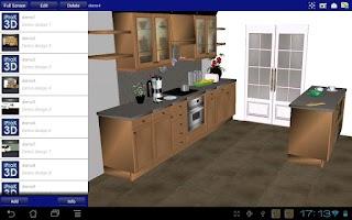 Screenshot of iProK3D