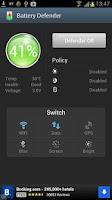 Screenshot of Battery Defender - 1 Tap Saver