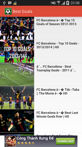 Best Goals (Goal & Skill) APK
