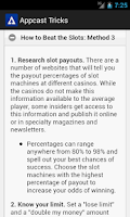 Screenshot of Appcaster Tips