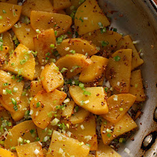 Rutabaga with Mustard and Scallions Recipe