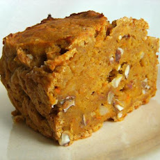 Easy Pumpkin Black Walnut Bread (Cake)
