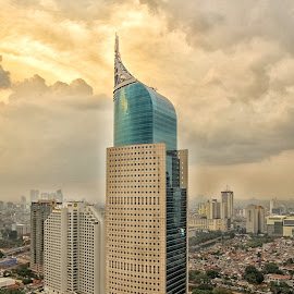 BNI tower by Rully Wee Bee - Buildings & Architecture Office Buildings & Hotels ( building, architecture, cityscape )