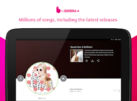 Screenshot of blinkbox Music