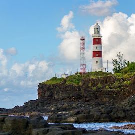 LightHouse of Mauritius by Kishu Keshu - Landscapes Travel ( mauritius, cliff, lighthouse, volcanic,  )