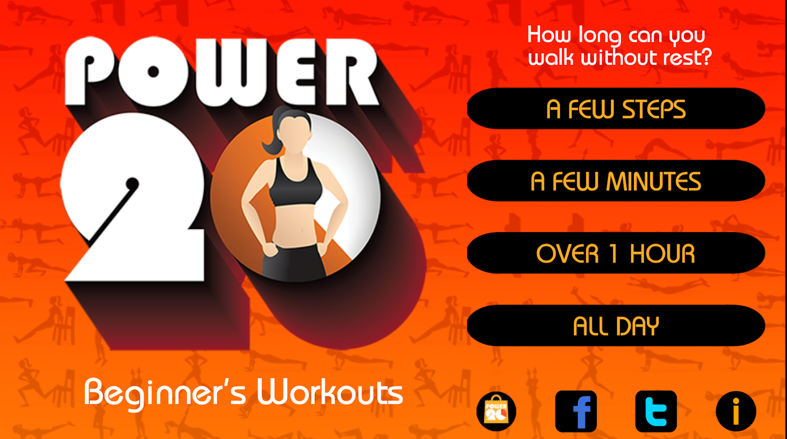 20 Minute Beginners Workout Screenshot 11