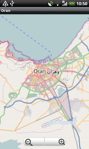 Oran Street Map