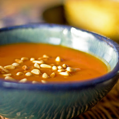 Spicy Pumpkin and Red Chile Soup