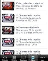 Screenshot of Rebelde - Novela  SBT