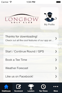 Longbow GC - screenshot