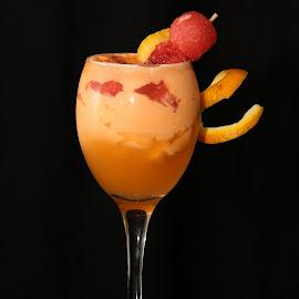 Sunset by Deepa Sarathy - Food & Drink Alcohol & Drinks ( orange, sunset, food, drink, mocktail )
