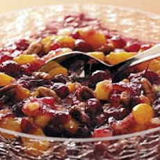 Pineapple Cranberry Sauce with Chiles and Cilantro