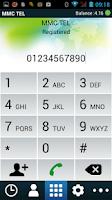 Screenshot of MMC TEL