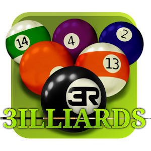 Cover art 3D Pool game - 3ILLIARDS