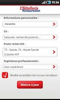 Screenshot of LHR Emploi