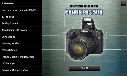 Guide to Canon EOS 50D