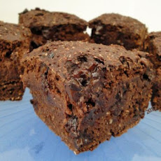 Vegan Cocoa Tofu Brownies (Healthified)