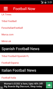 Football Now - screenshot