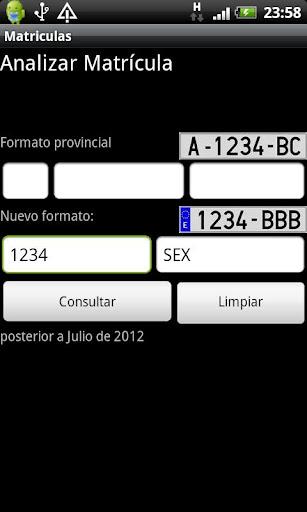 Car Register - screenshot