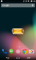 Screenshot of [Battery Theme] Bubbles Orange